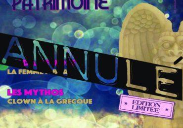 Annulation du festival Rires et Patrimoine le 15 août 2021